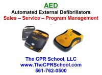 Tampa Clearwater Florida AED Sales and Service